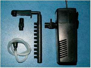 помпа с фильторм и аэрацией для аквариума
